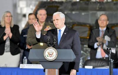 Vice president wants U.S. businesses trailblazing into space