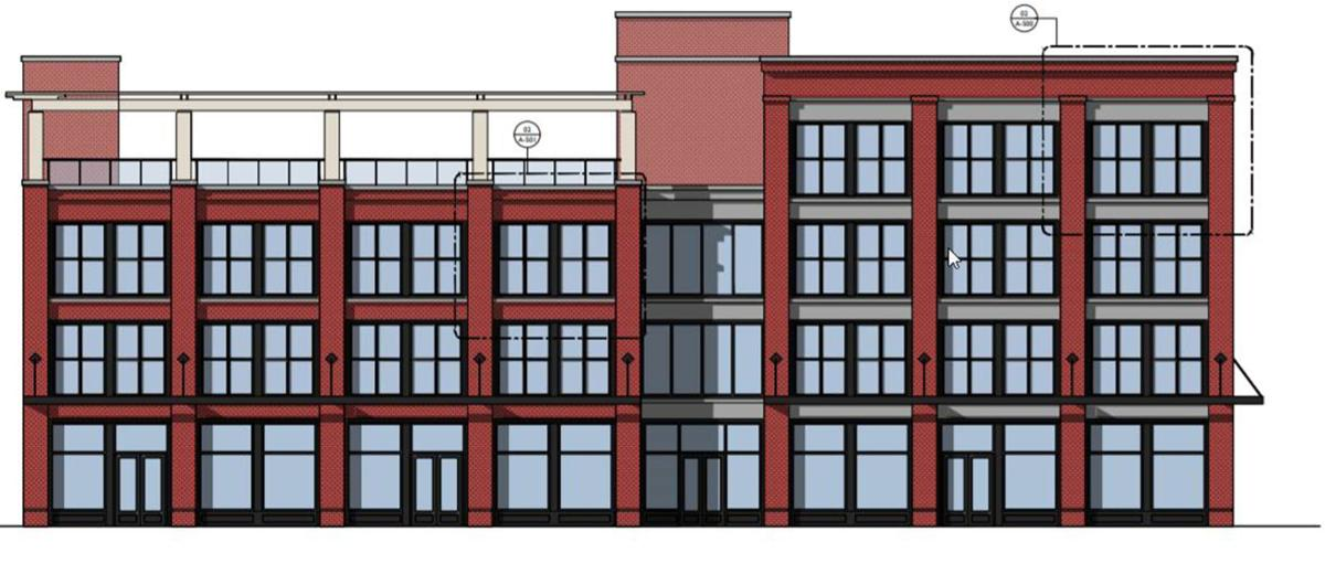 Jackson Ave and Clark Street mixed-use, River District