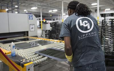 Lippert employment in Goshen lags amid RV slowdown