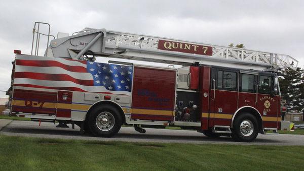 Elkhart FD welcomes new fire truck