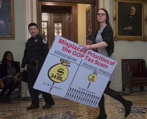 Tax bill clears Senate