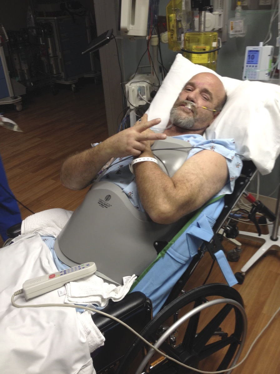 New Paris man injured after tree limb fell on him recovering from injuries