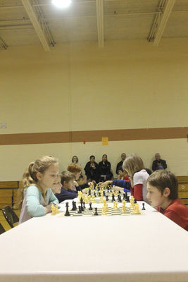 Chess for Scholastic Success program of Goshen schools holds championships