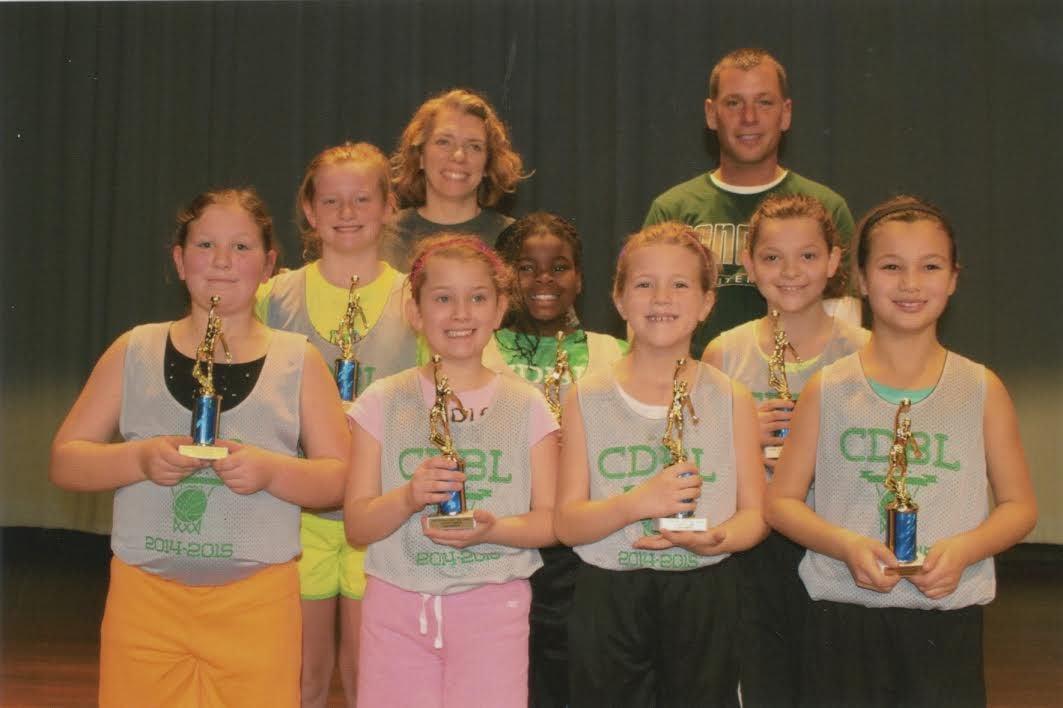 Concord Developmental Girls Basketball League crowns champions