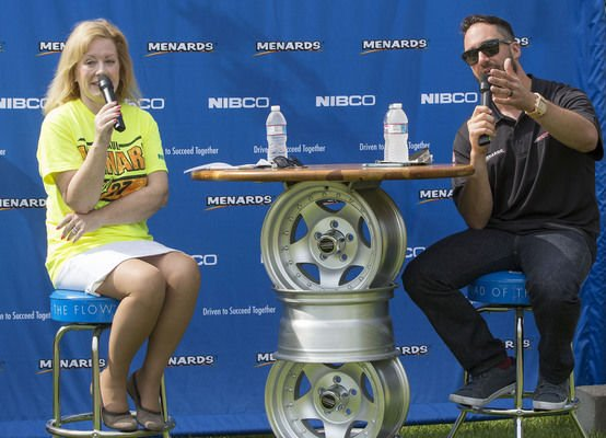 Paul Menard proud to have NIBCO on his race cars