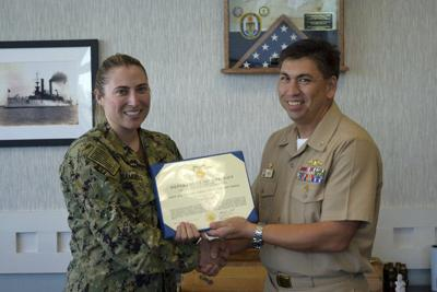 Elkhart native receives 2nd Navy and Marine Corps commendation medal