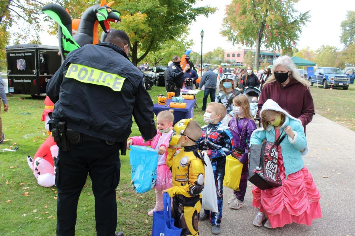 Trunk or treat at Island Park