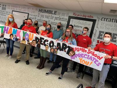 Dec-O-Art donates to elementary school