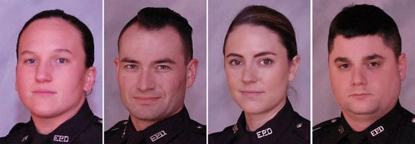 Officers applauded for stopping robbery, preventing hostage situation