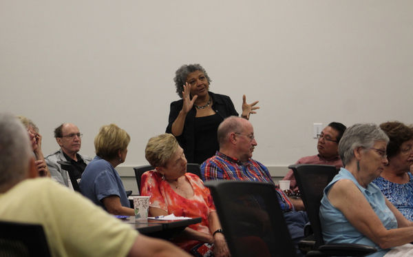 Talk probes race, relations with police