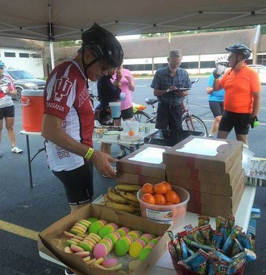 Cyclists tour county, raise money to fight cancer