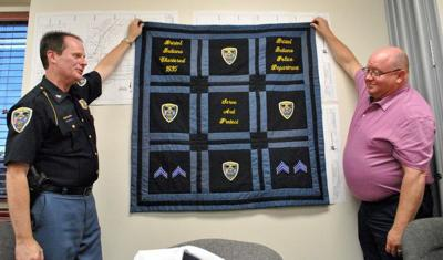 Memory quilt to adorn Bristol police department