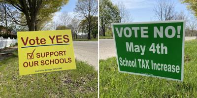 2021 school referendum yard signs
