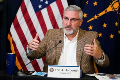 Indiana Gov. Eric Holcomb