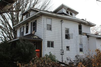 Fire leaves house uninhabitable