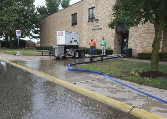 Rainfall damages Concord performing arts wing