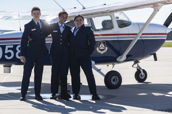 Cadets take to the skies