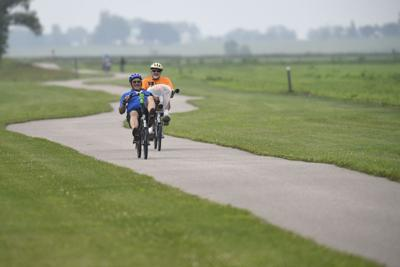 Elkhart should connect to county's bike trail network if possible