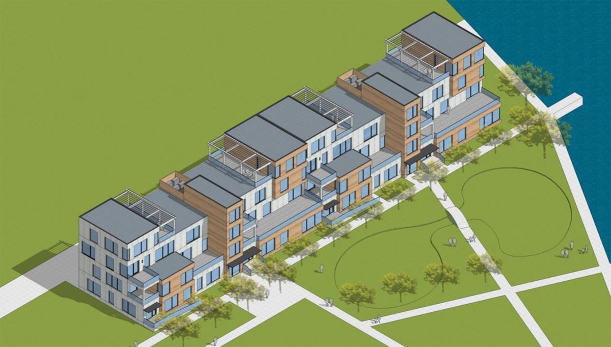 Portage Place modern rendering