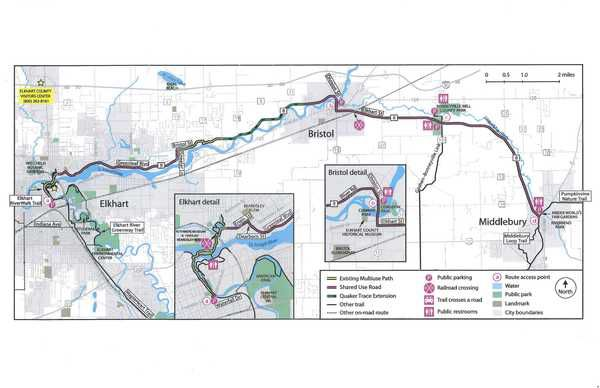 County Road 8 bike path causes disagreements