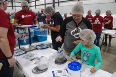 Goal: Pack more than 1 million meals