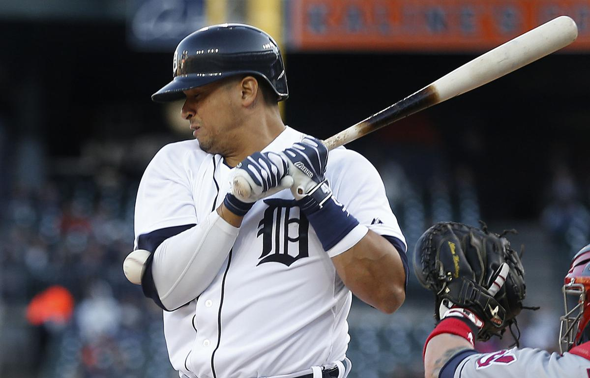 Victor Martinez drives in 3 runs, leads Tigers over Indians