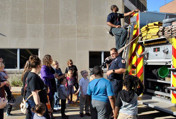 Fire safety at the library