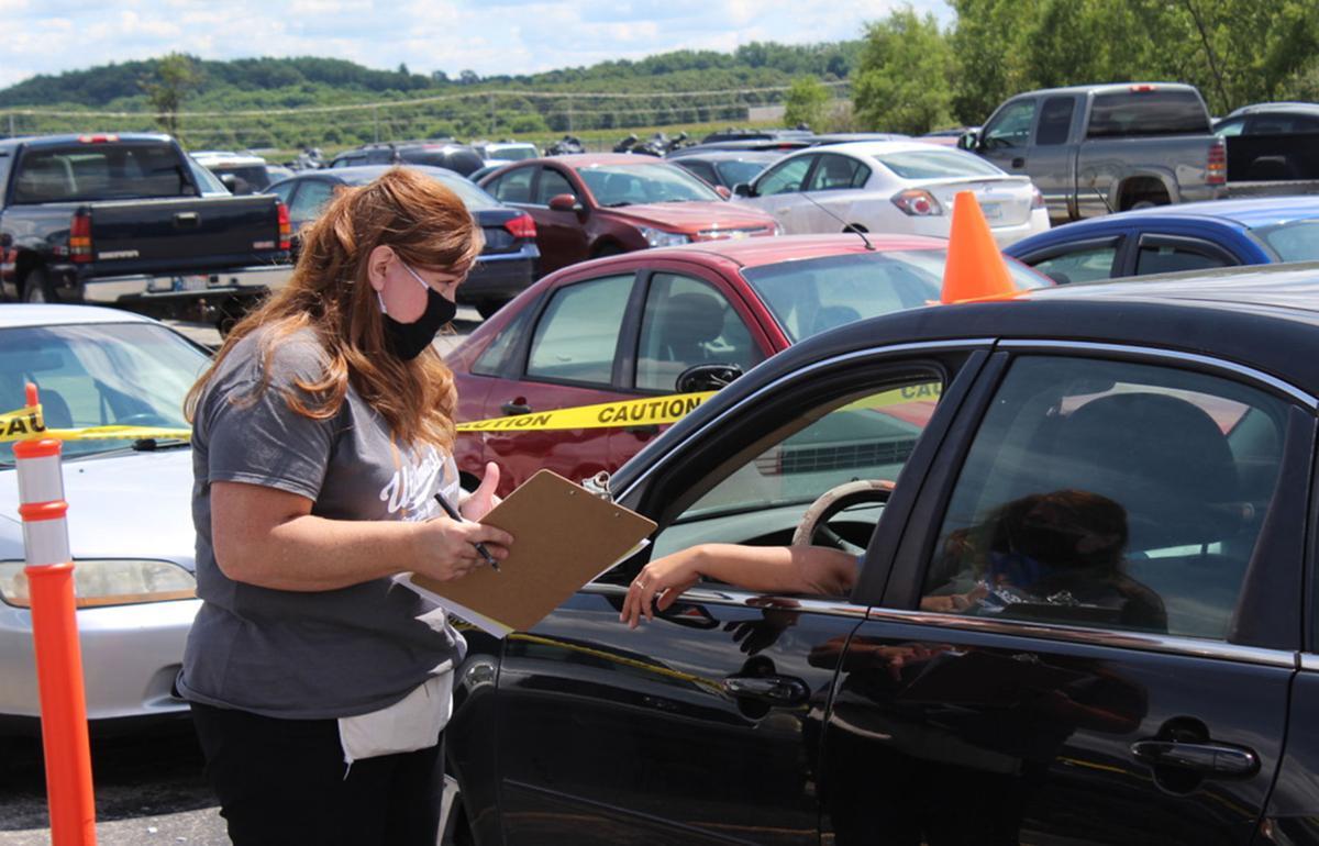Drive-thru job fair draws interest