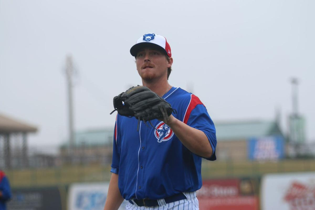 James Farris 'digging' transition from starter to reliever for the South Bend Cubs
