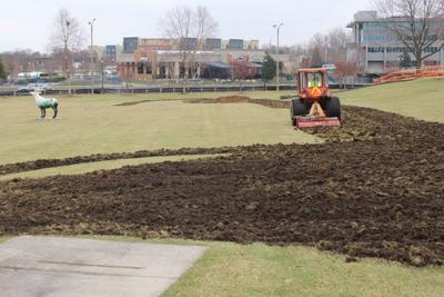 Early stage of park revamp cheaper than expected