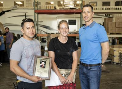 Keystone employee wasrecognized for quick response