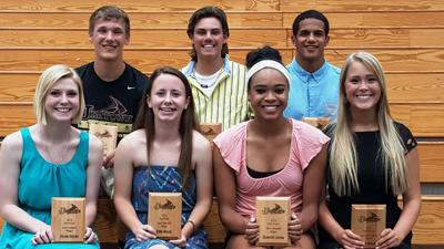 Jimtown recognzies spring athletes