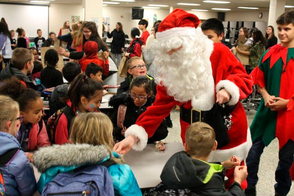 Concord throws a Christmas party