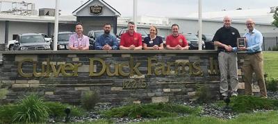 Elkhart Chamberrecognizes Culver Duck Farms