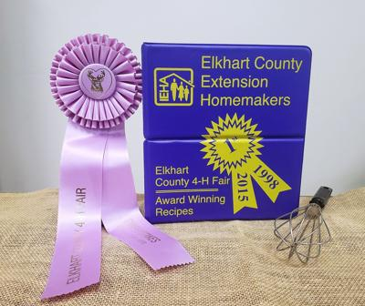 Elkhart County Extension Homemaker cookbooks on sale
