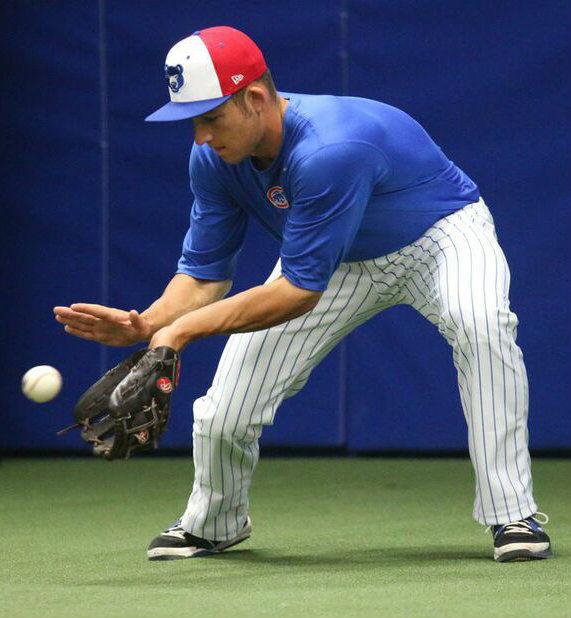 Baseball's grind doesn't get South Bend Cubs infielder Jason Vosler down