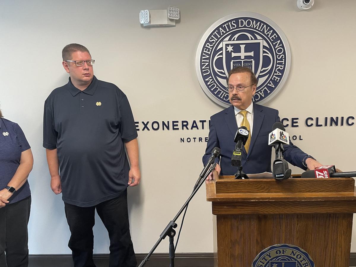Andrew Royer and Jimmy Gurulé exoneration