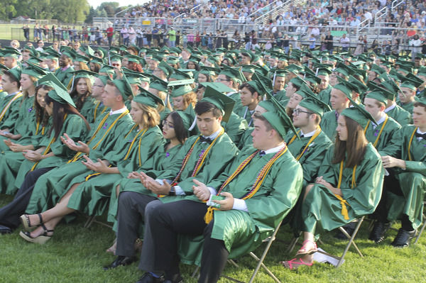 Over 350 celebrate commencement at Concord