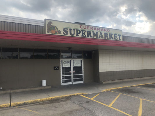 Fire at supermarket leaves owners frustrated