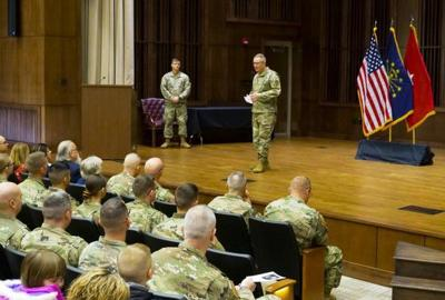 National Guard 38th Military Police Company deployed to Middle East