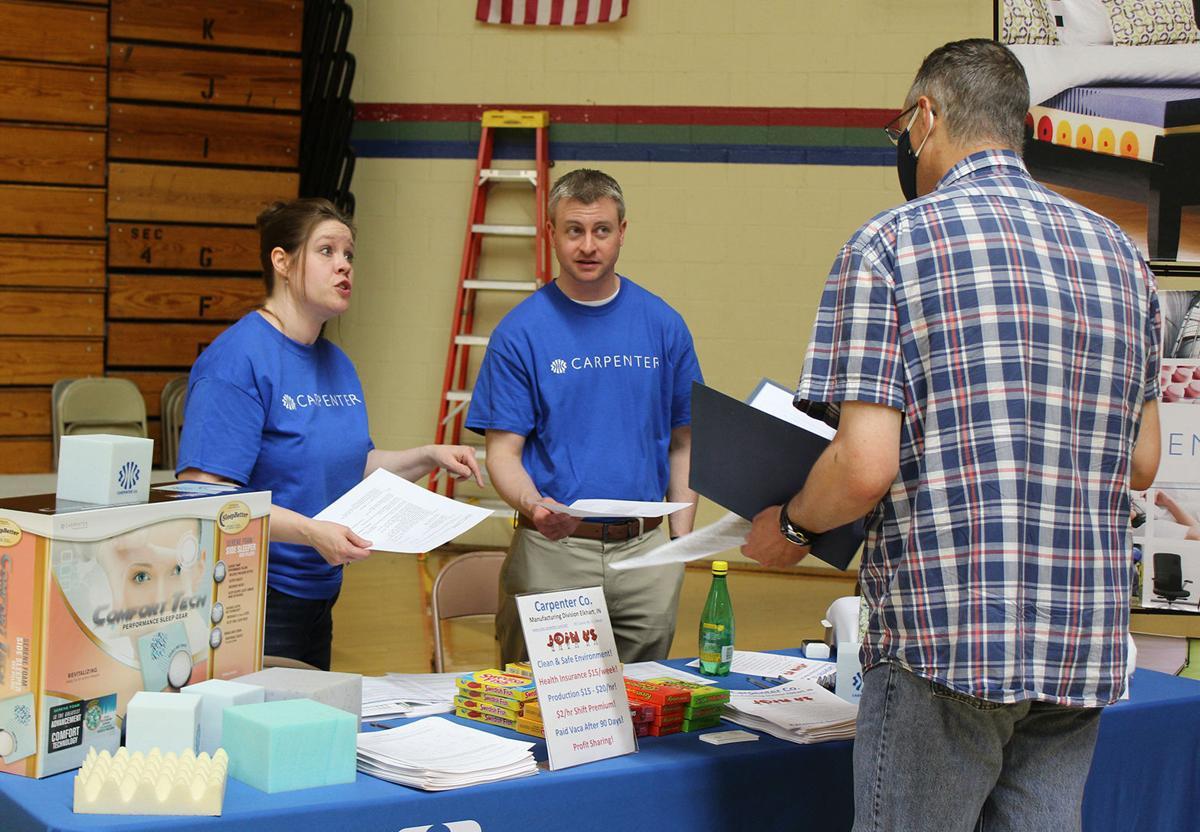 More jobs than workers, job fair reveals