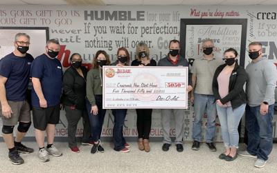Dec-O-Art donates to Crossroads New Start Home