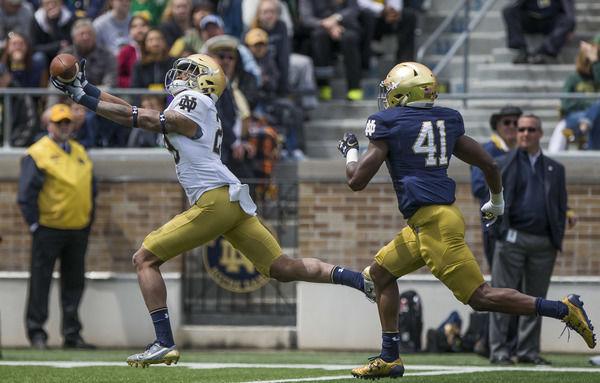 Notre Dame QB Wimbush talks 'process' after struggling
