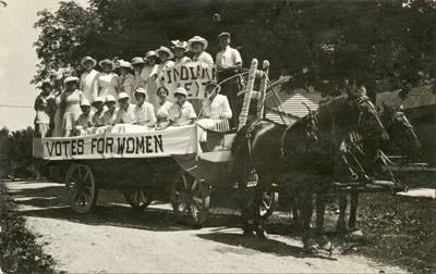 Securing the Vote, provided by Indiana Historical Society
