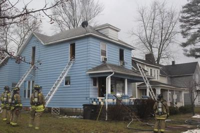 Pets rescued from Marion Street house fire