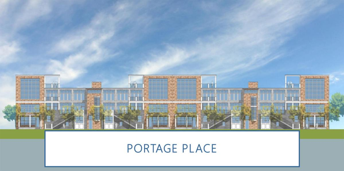 Portage Place drawing