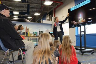 Rocket builder and author shows the way for girls and minorities