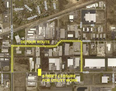 Beck Drive closed for construction