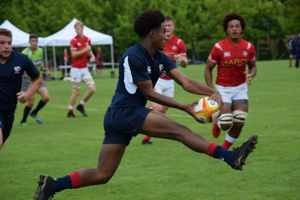 Penn duo competing with the best in rugby