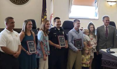 Three recognized for saving lives